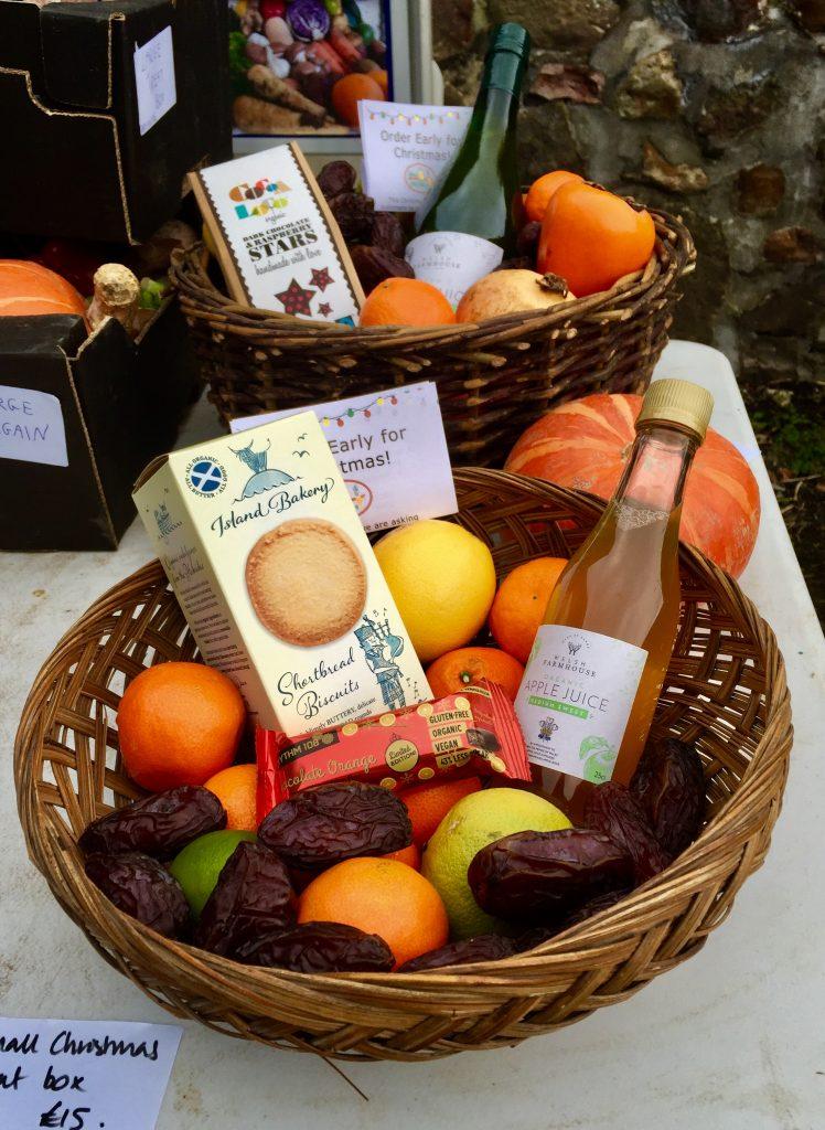 Christmas Organic Fruit